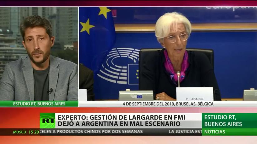 Christine Lagarde abandona la dirección del FMI dejando un turbulento legado
