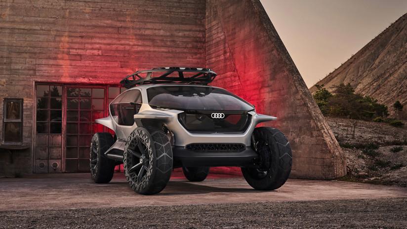 VIDEO, FOTOS: Audi reemplaza los faros por drones en su futurista concepto de todoterreno eléctrico