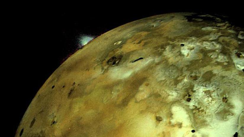 Afirman que la luna volcánica Ío de Júpiter no tendría un océano de magma en su interior