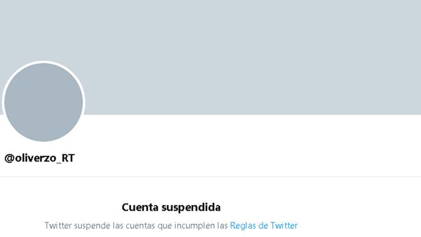 Twitter suspende la cuenta del corresponsal de RT en Cuba