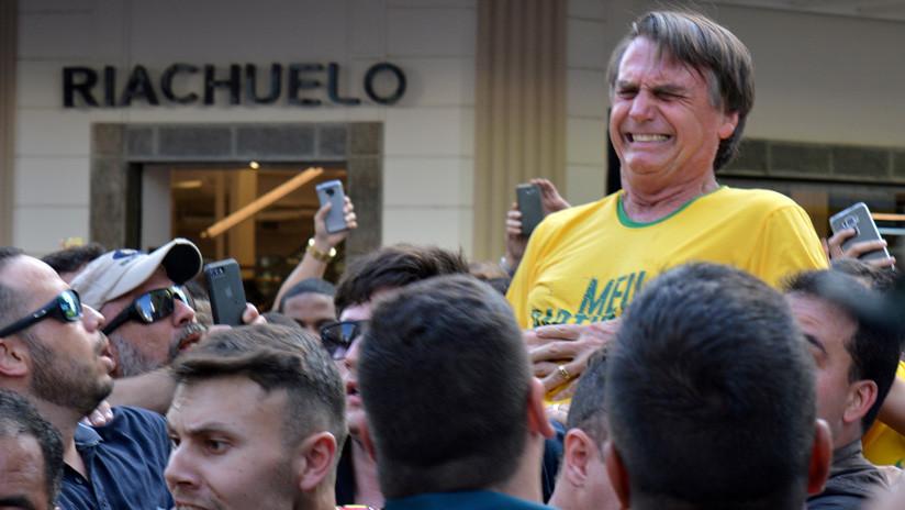 El cuchillo con el que Bolsonaro fue atacado se exhibirá en un museo de Brasilia