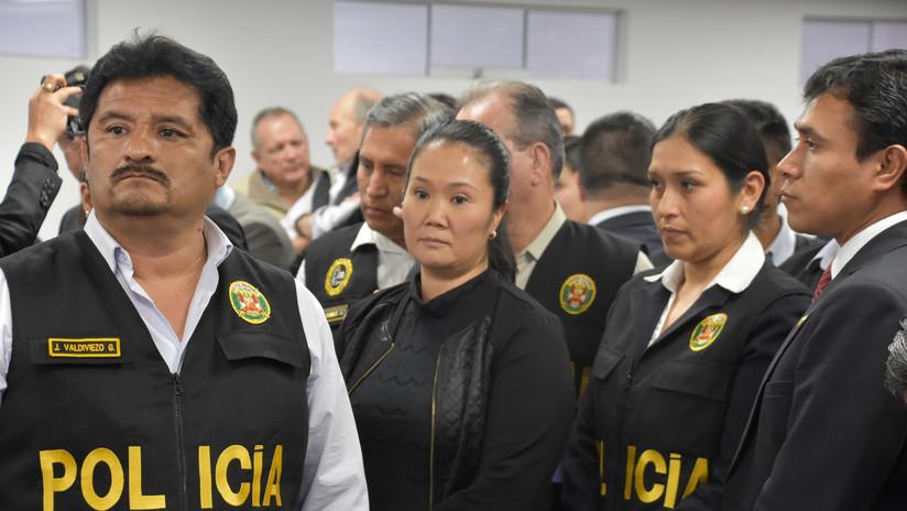 Supremo peruano reduce prisión preventiva de Keiko Fujimori a 18 meses