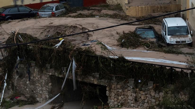 """""""No salgan de sus casas, ni usen sus vehículos"""": Las dramáticas secuelas de la depresión Dana por el sudeste de España (VIDEOS)"""
