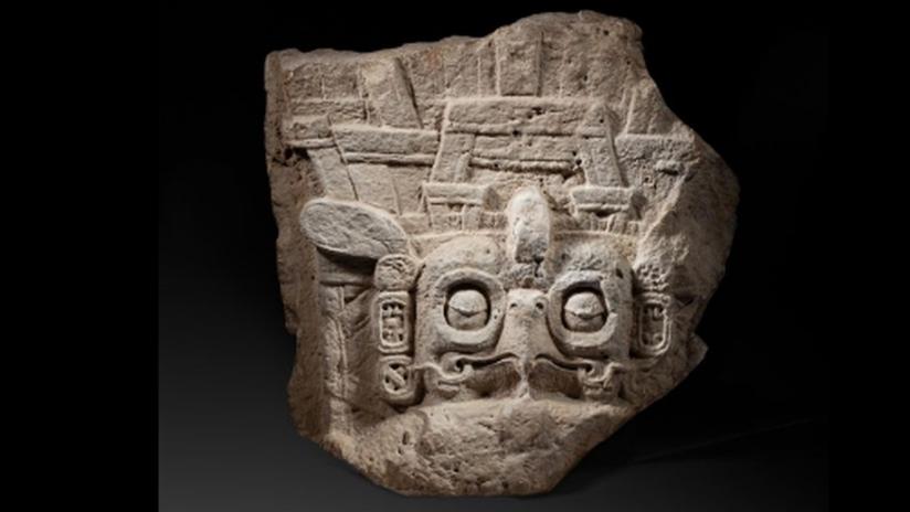 Suspenden por petición de Guatemala la subasta de una pieza arqueológica maya en Francia