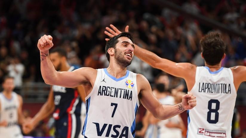 Argentina derrota a Francia y se enfrentará en la final del Mundial de baloncesto a España