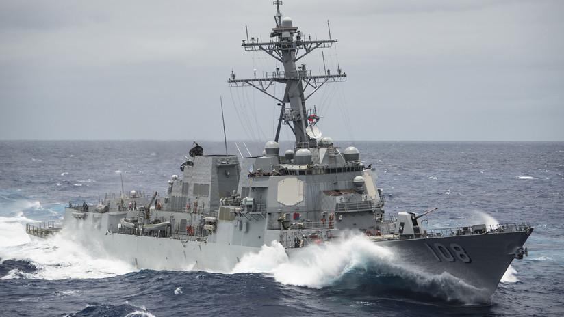 """Un destructor de EE.UU. entra en aguas de las Islas Paracelso """"sin permiso de China"""""""
