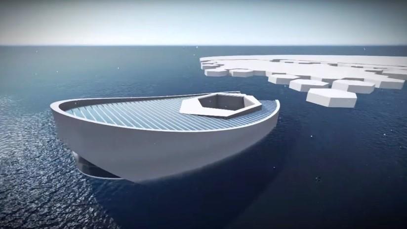 Diseñan en Indonesia un submarino productor de icebergs para luchar contra la desglaciación y el cambio climático