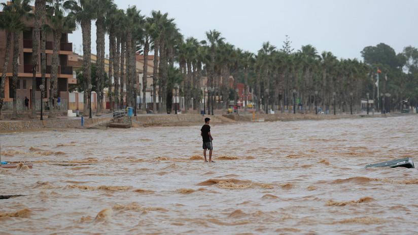 Ascienden a cuatro las víctimas mortales del temporal de lluvias en España