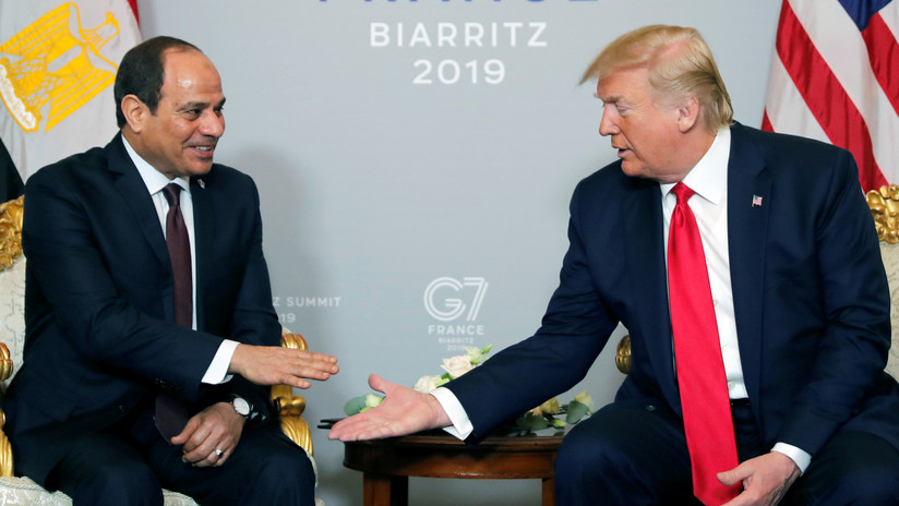 "The Wall Street Journal: Trump llamó al presidente de Egipto su ""dictador favorito"" en la cumbre del G7"