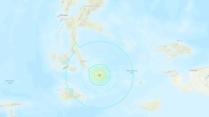Se registra un sismo de magnitud 5,9 cerca de las costas de Indonesia