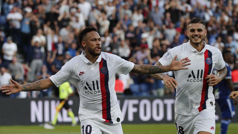 VIDEO: Neymar acalla los abucheos e insultos de los hinchas del PSG con un golazo de chilena en el minuto 92