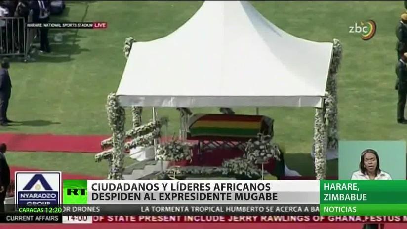 Zimbabue: Ciudadanos y líderes africanos despiden al expresidente Mugabe