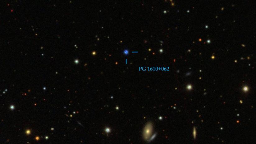 Una estrella fugitiva puede demostrar la existencia de agujeros negros de masa intermedia