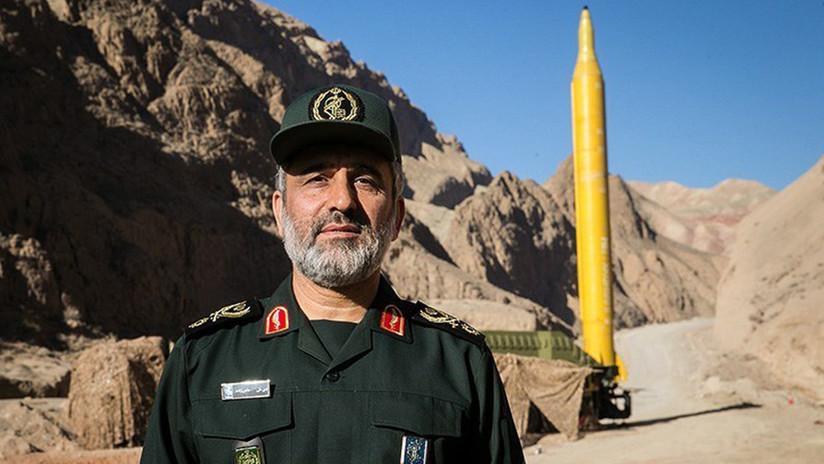 """""""Estamos listos para una guerra en toda regla"""": Comandante iraní dice que bases y portaviones de EE.UU. están al alcance de los misiles de Teherán"""