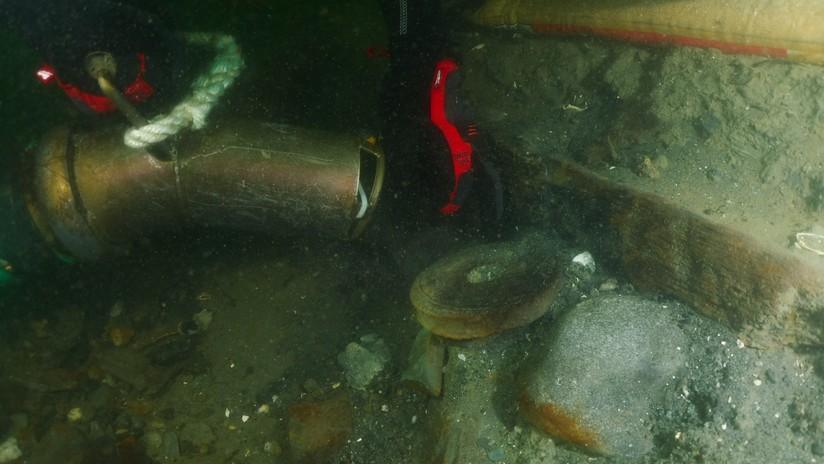 """FOTOS: Habrían encontrado los restos del HMS Endeavour, """"el navío más famoso"""" de James Cook"""
