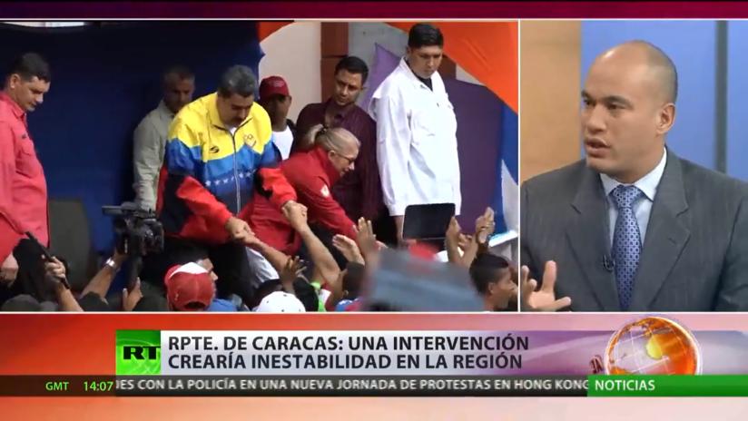 """Representante de Caracas: """"Una intervención en Venezuela crearía un nivel muy grave de la inestabilidad política en la región"""""""