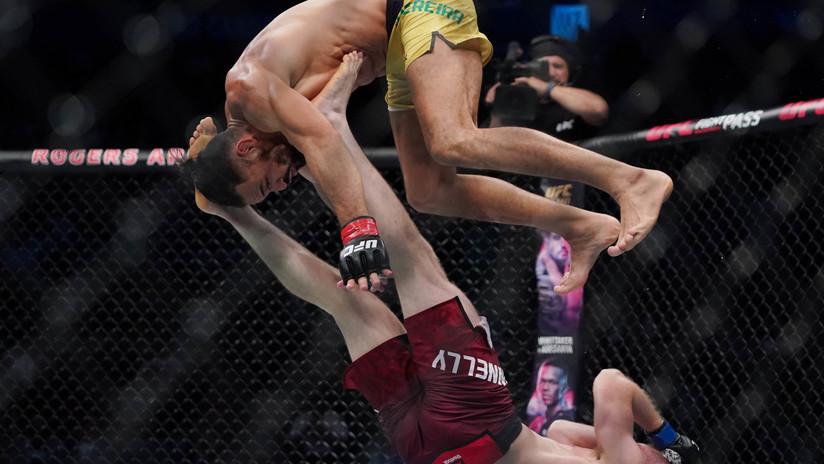 VIDEO: Luchador brasileño de la UFC asombra con sus saltos, giros y acrobacias pero pierde contra un novato