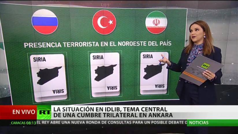 Los combates en Idlib, tema clave de la cumbre trilateral sobre Siria en Ankara