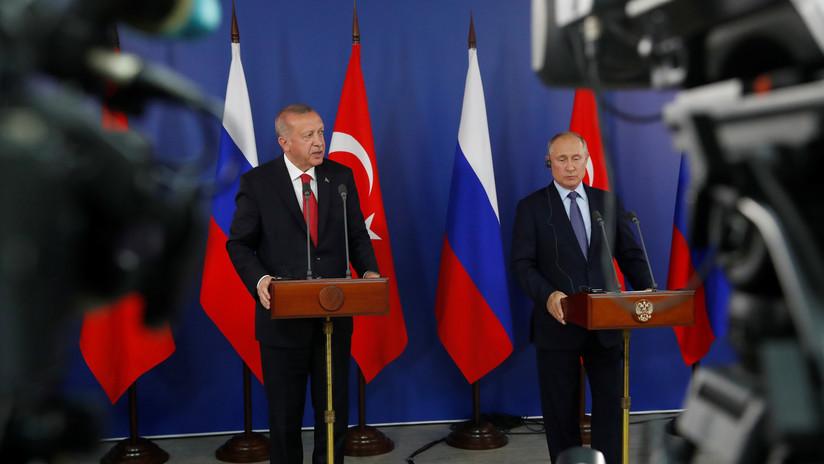 Desde estrechar lazos hasta cooperar en Siria: Qué discutieron los presidentes de Rusia, Turquía e Irán en Ankara
