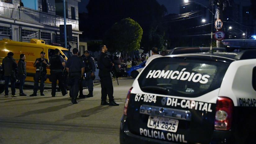 Un operativo policial deja cuatro muertos y tres heridos en una favela de Río de Janeiro
