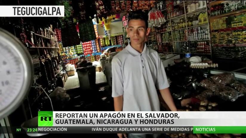Reportan un apagón en El Salvador, Guatemala, Nicaragua y Honduras