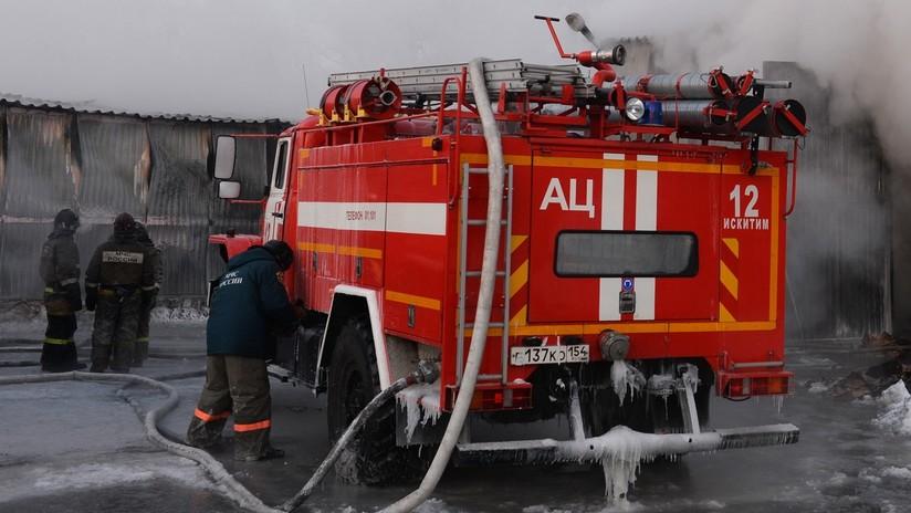 Se registra una explosión de gas y un incendio en uno de los mayores laboratorios de virus en Rusia