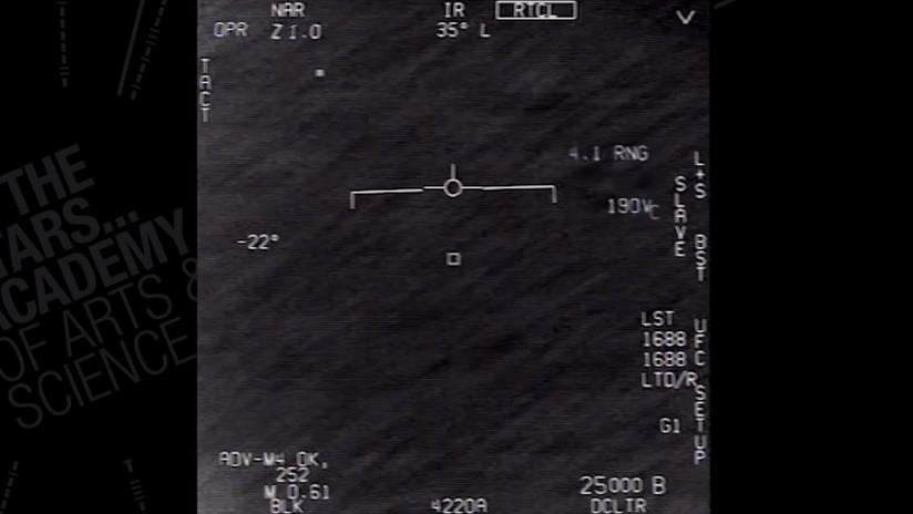 """""""Fenómenos aéreos no identificados"""": La Marina de EE.UU. confirma por primera vez la autenticidad de tres vídeos con ovnis"""