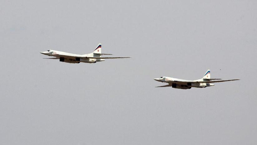 VIDEO: Cazas de cinco países acompañan a dos bombarderos rusos Tu-160 sobre el Báltico