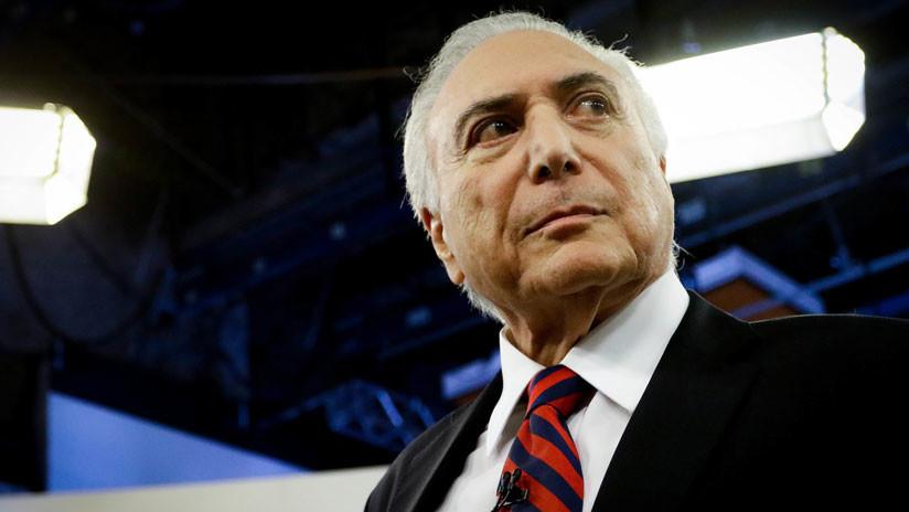 """Michel Temer califica de """"golpe"""" el juicio político contra Dilma Rousseff y desata la polémica en Brasil"""