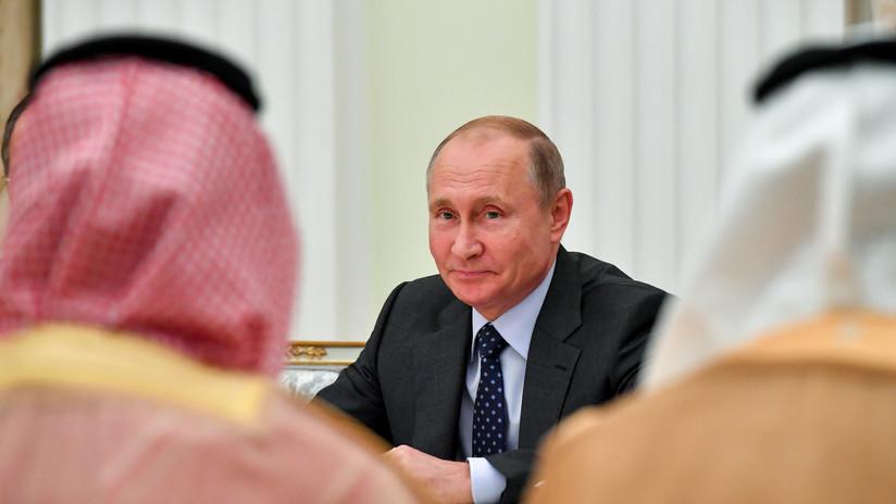 Putin aborda los ataques a refinerías sauditas en una conversación telefónica con el príncipe heredero