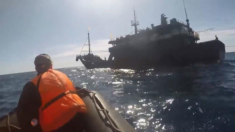 VIDEO: Difunden el arresto de los norcoreanos que atacaron a la Guardia Fronteriza de Rusia