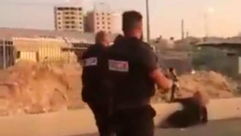 VIDEO: Fuerzas israelíes matan a tiros a una mujer palestina tras un presunto ataque con arma blanca
