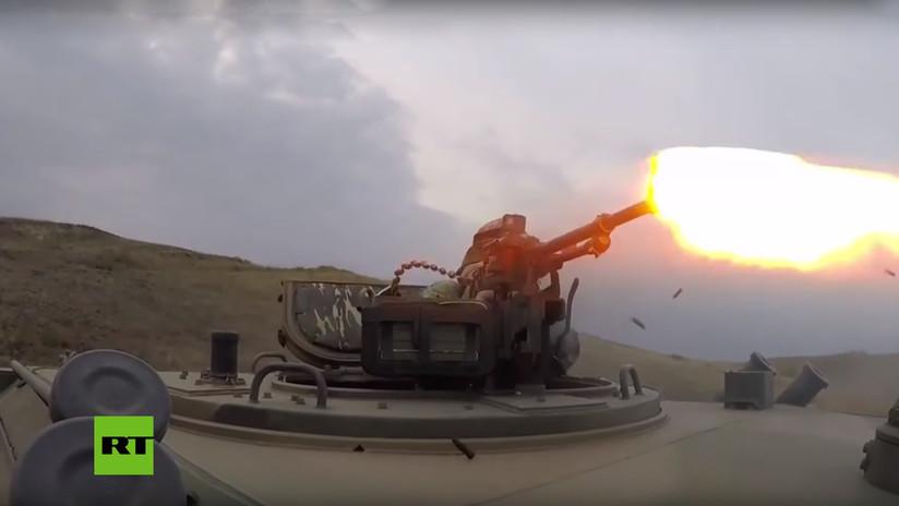 VIDEO: Un comando del Spetsnaz ruso lanza un asalto sorpresa contra un 'puesto enemigo'