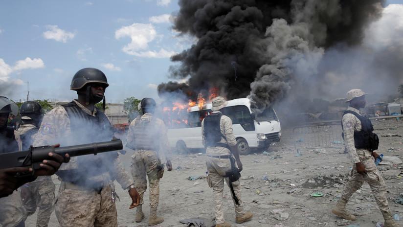Haití arde tras varios días de intensas protestas por la escasez de combustible