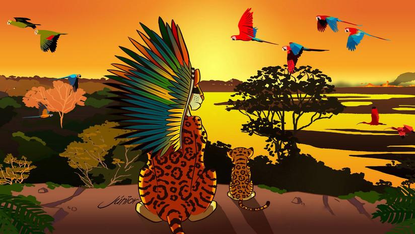 ¿Y si el Rey León sucediese en una Amazonía en llamas?