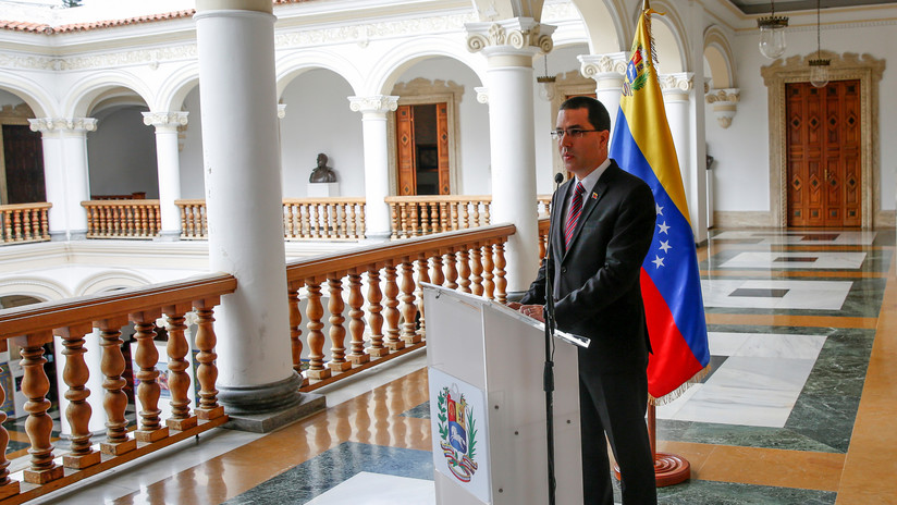 """Canciller venezolano a España: """"asumimos que están haciendo gestiones para que Trump levante las sanciones"""""""