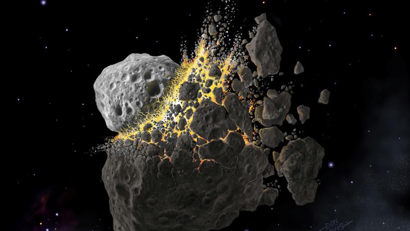 El polvo de un asteroide desintegrado provocó una explosión de vida en la Tierra hace 466 millones de años