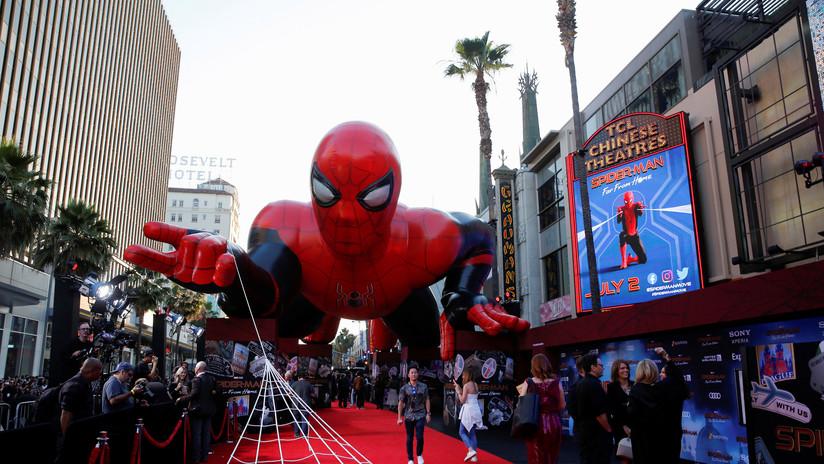 ¿Me ha detenido Spiderman? Policía de EE.UU. prueba un dispositivo de lazo para suplir a las Tasers (VIDEO)
