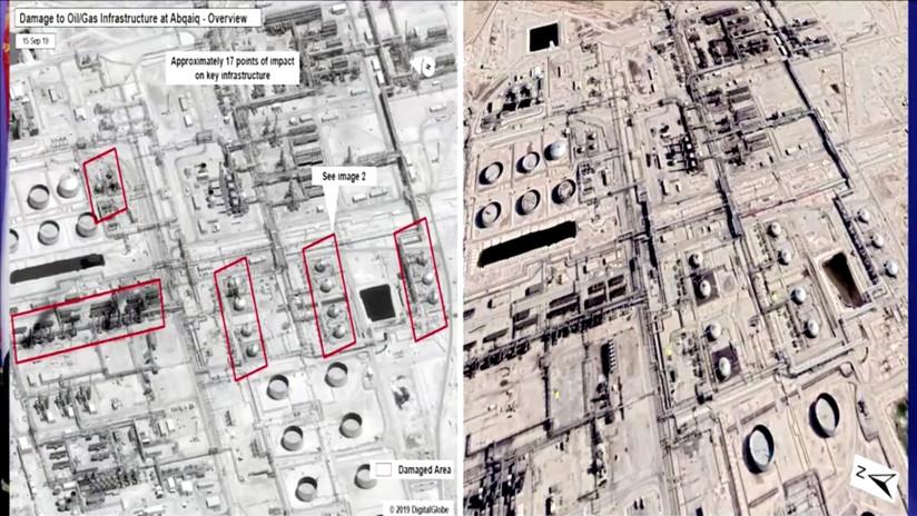 Casa Blanca: Arabia Saudita ve el ataque contra las refinerías sauditas como su propio 11-S