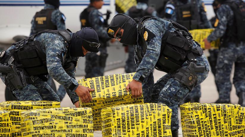Gobierno de Guatemala admite que el país se ha convertido en productor de cocaína