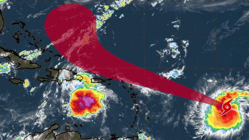 Jerry se convierte en un huracán de categoría 1