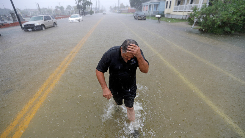 VIDEO: La tormenta tropical Imelda provoca grandes inundaciones en la costa de Texas