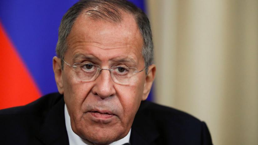 Lavrov: EE.UU. busca justificar con una campaña mediática su salida del tratado que prohíbe los ensayos nucleares