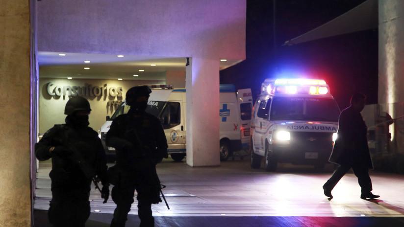 Hombres armados ingresan a un hospital de México para asesinar a un capo baleado dos semanas atrás