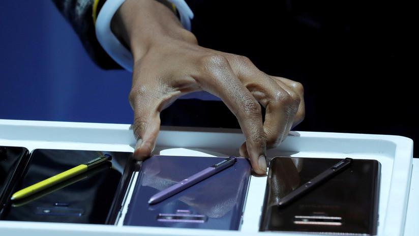 VIDEO: Un Samsung Galaxy Note 9 se incendia espontáneamente en el mostrador de una tienda en Perú