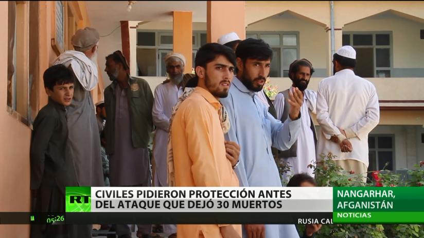 Los afganos muertos por un dron de EE.UU. pedían protegerlos de los yihadistas