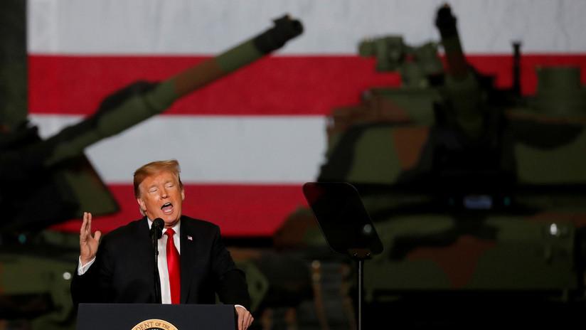 Trump dice estar siempre preparado para la opción militar contra Irán