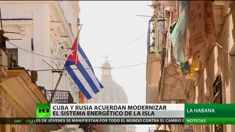 Firman en Moscú un acuerdo para modernizar el sistema energético de Cuba