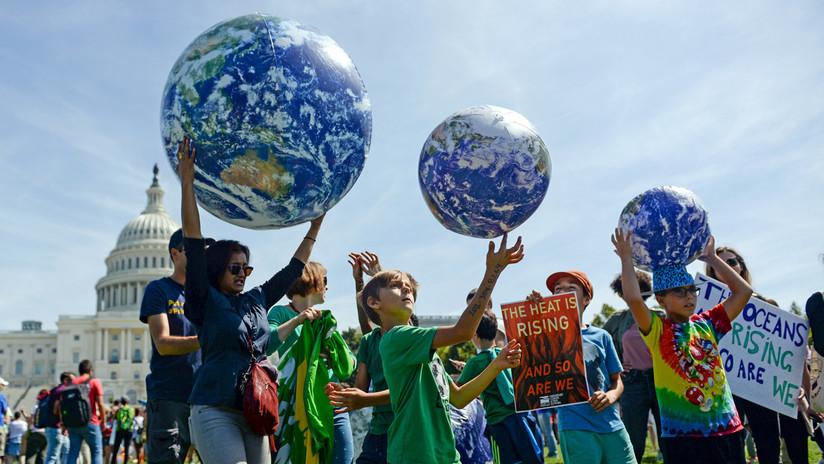 El mundo sale a la calle para alzar la voz contra el cambio climático