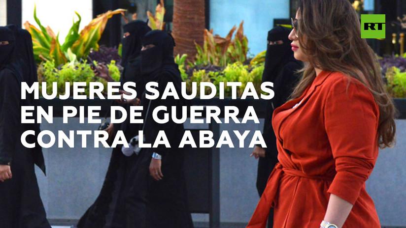 Camina sin abaya y con tacones por Arabia Saudita